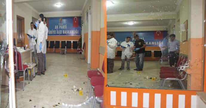 AKP İlçe Başkanlığı'na bombalı saldırı!