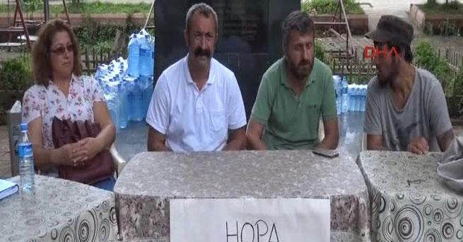 Komünist başkandan Hopa'ya yardım