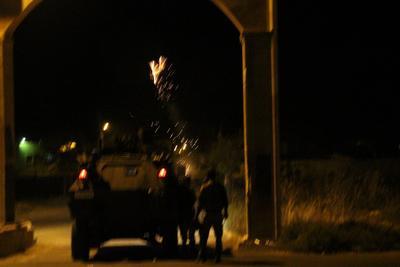 Nizamiyeye el bombası atıldı: 1 asker yaralı