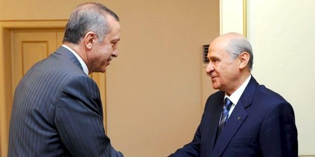 Erdoğan ve Bahçeli yarın erken seçimi görüşecek