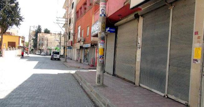Nusaybin'de kepenkler kapalı