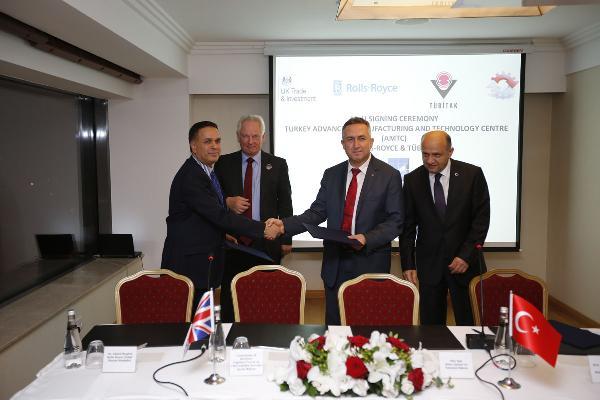 Rolls Royce Türkiye'de teknoloji merkezi açıyor
