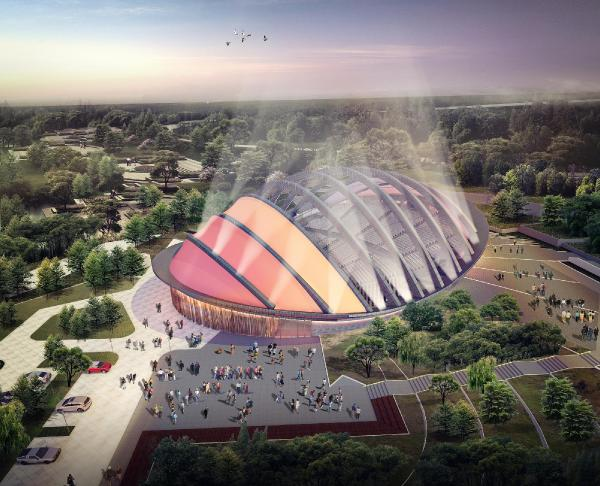 Bursa'nın yeni açık hava tiyatrosuna İngiltere'den özel ödül