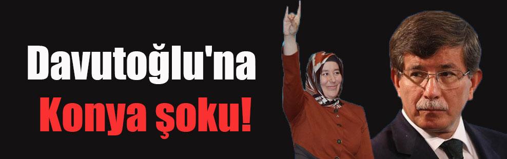 Davutoğlu'na Konya şoku!