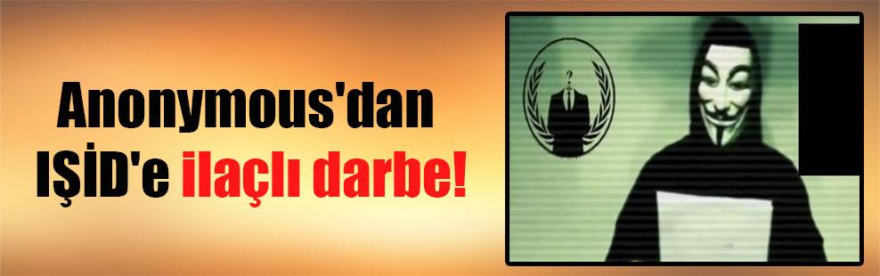 Anonymous'dan IŞİD'e ilaçlı darbe!