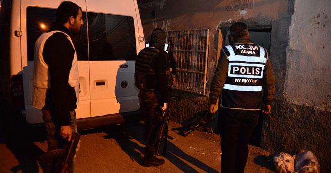 Adana'da 'terör' operasyonu!… 20 gözaltı!