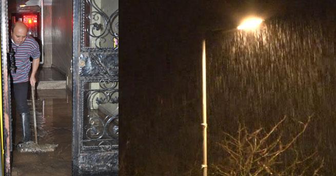 İstanbul ve İzmir'de sağanak etkili oldu