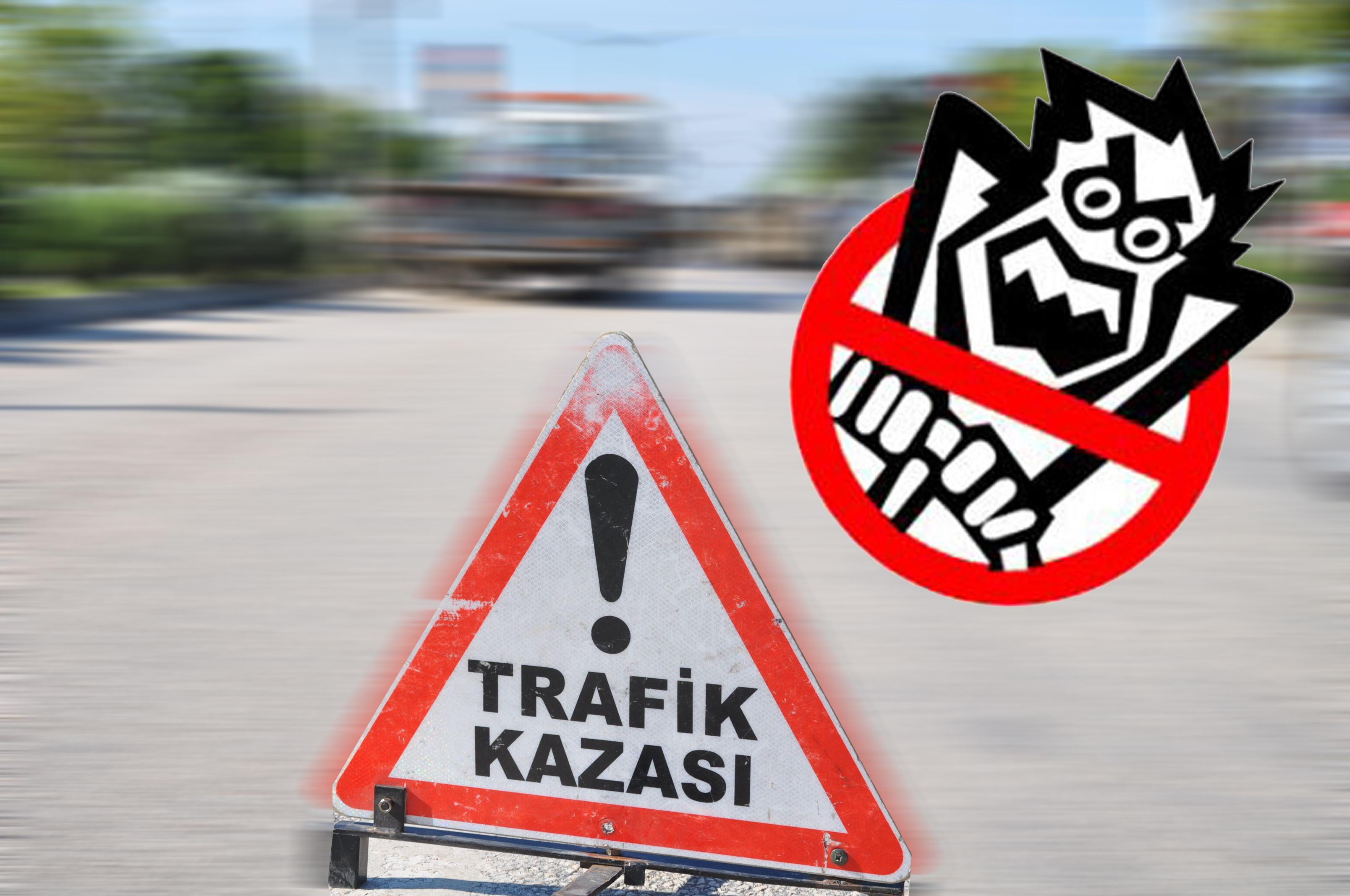 TEM'de trafiği kilitleyen kaza: 2 yaralı