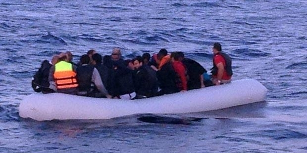 Akdeniz'de 6 ayda 914 göçmen yakalandı