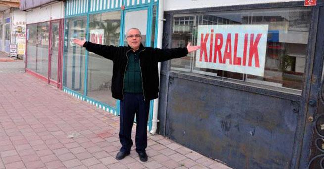 'Küçük Amerika'da esnaf dükkan kapatıyor