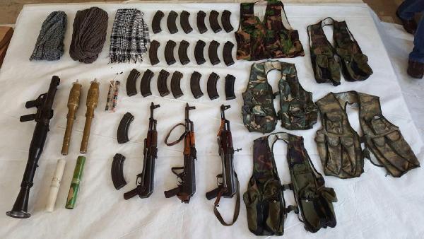 Sur'da PKK cephaneliği ortaya çıktı