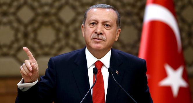 Erdoğan: Bizim alnımızda enayi yazmıyor, iki yüzlüsünüz!