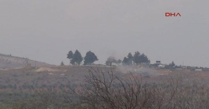 Fırtına obüsleri, Suriye'deki PYD bölgesini vuruyor!