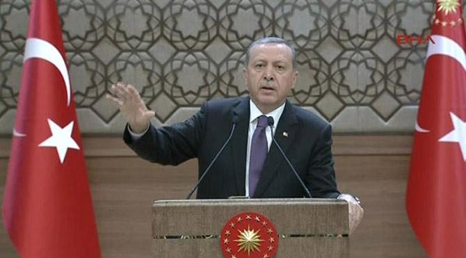 Erdoğan'dan ABD'ye PYD mesajları