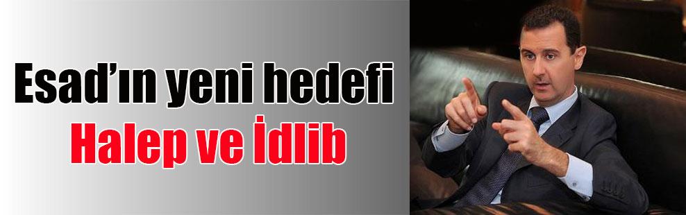 Esad'ın yeni hedefi Halep ve İdlib
