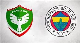 Amedspor-Fenerbahçe maçı seyircisiz