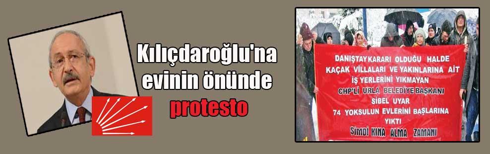 Kılıçdaroğlu'na evinin önünde protesto