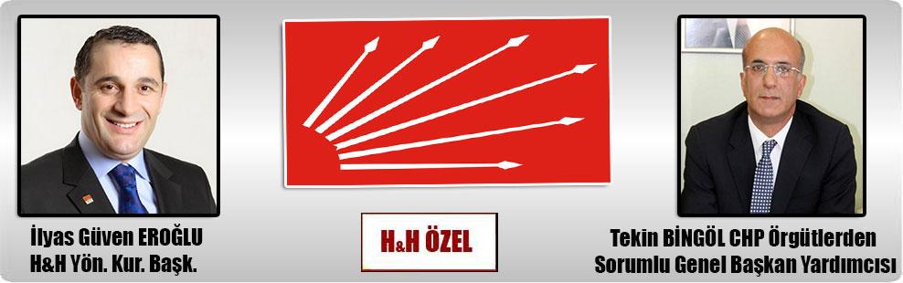 Tekin Bingöl'ün H&H hakkındaki suç duyurusuna Savcılık'tan 'KOVUŞTURMAYA YER YOK' kararı!