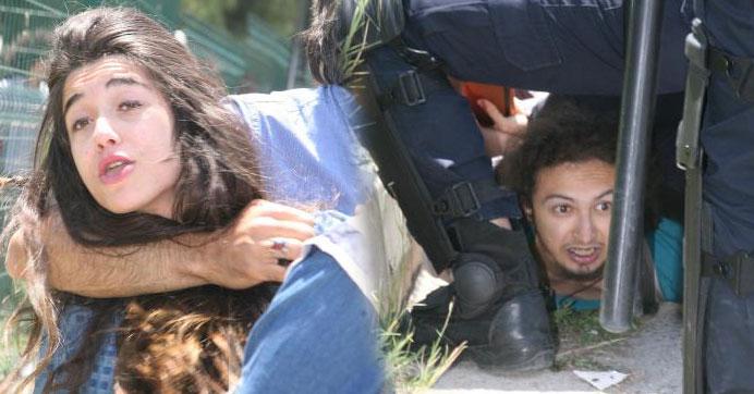 Ege Üniversitesi'nde eyleme sert müdahale