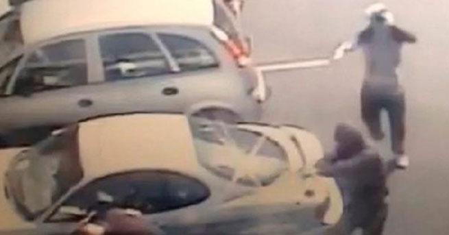 İrlanda'da çete infazı böyle görüntülendi