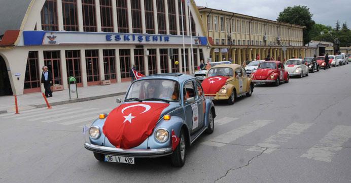 Eskişehir'de teröre vosvos konvoyu ile tepki