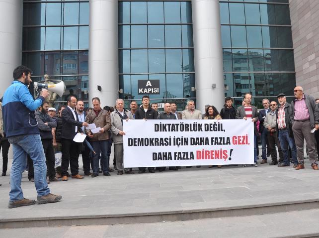 Gezi Parkı yürüyüşüne katılan 18 kişiye dava