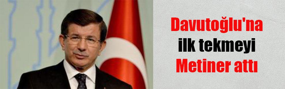 Davutoğlu'na ilk tekmeyi Metiner attı