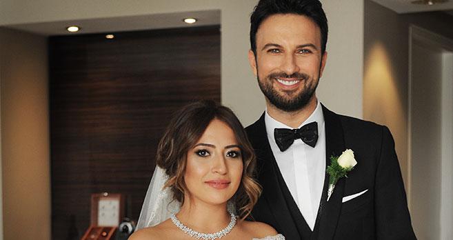 Tarkan ve Pınar Dilek'in düğününden ilk kare..