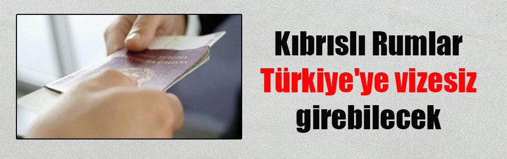 Kıbrıslı Rumlar Türkiye'ye vizesiz girebilecek