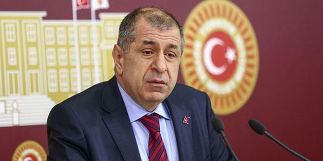 MHP'li Özdağ ihraç istemi ile disipline sevk edildi