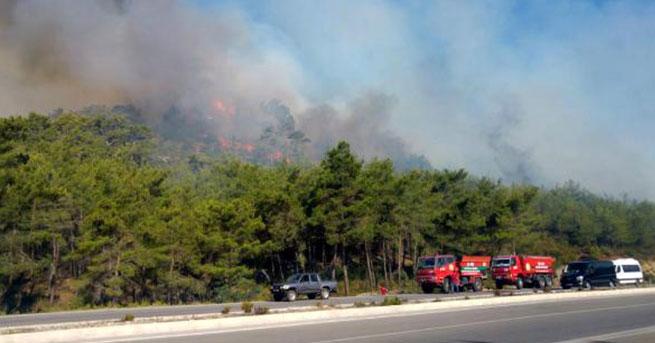 Turizm cennetinde art arda ikinci yangın
