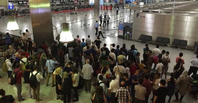 Teröristleri havalimanına götüren taksicinin ifadesi alındı