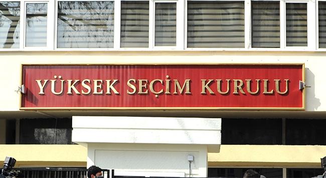 YSK'dan MHP kurultayı açıklaması