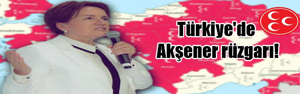 Türkiye'de Akşener rüzgarı!