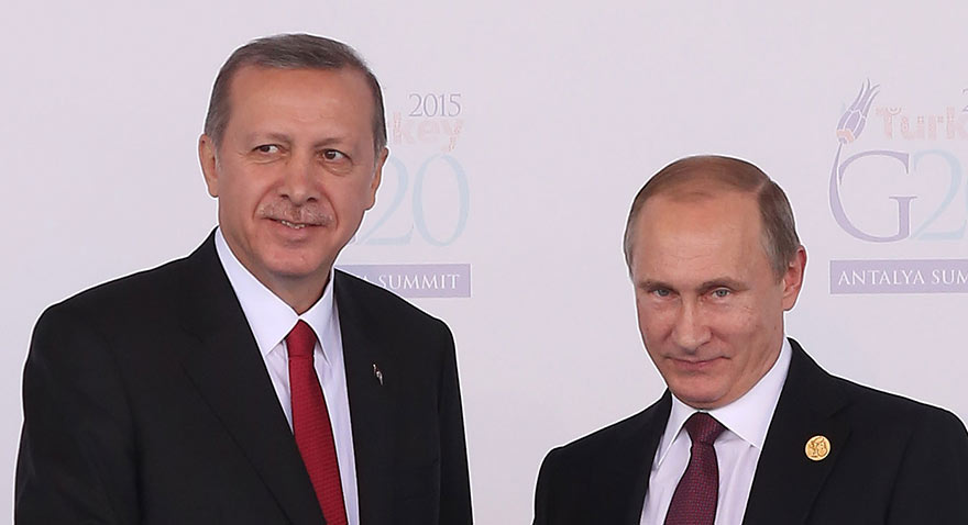 Erdoğan, Putin'le görüşmek için Soçi'ye gidiyor