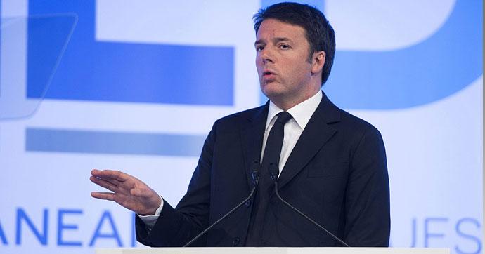 İtalya Başbakanı Renzi Türkiye'deki olayları değerlendirdi