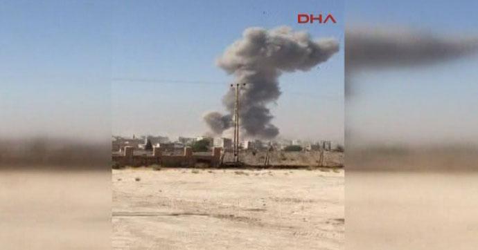 Suriye-Kamışlı'da bomba yüklü kamyon patlatıldı!.. Çok sayıda ölü ve yaralı var!