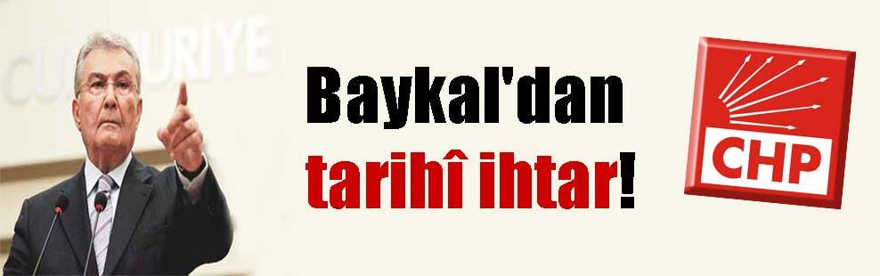 Baykal'dan tarihî ihtar!