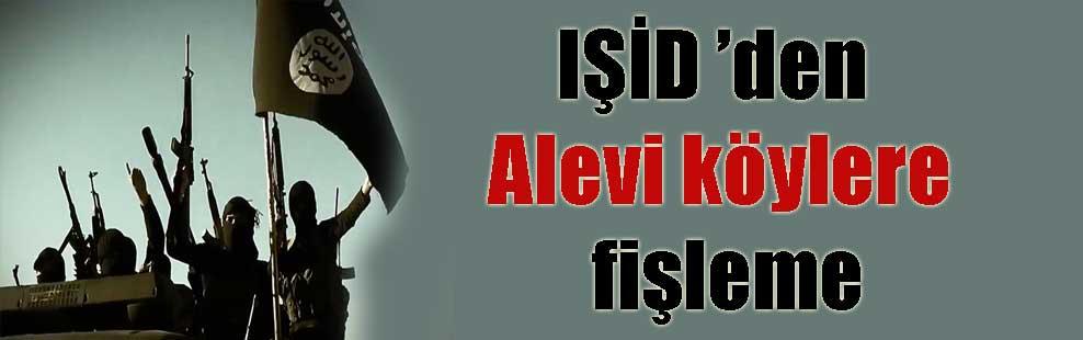 IŞİD 'den Alevi köylere fişleme