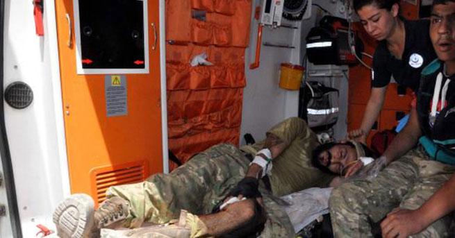 3 ÖSO militanı, tedavi için Gaziantep'te