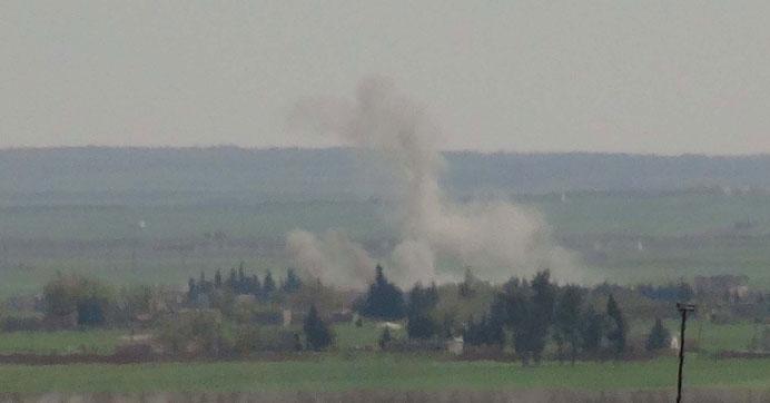 Cerablus çevresindeki YPG unsurları vuruldu