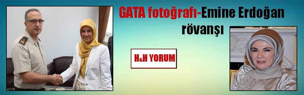 GATA fotoğrafı-Emine Erdoğan rövanşı