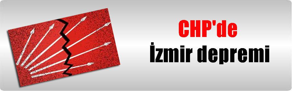 CHP'de İzmir depremi