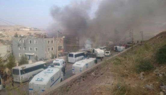 Cizre'de 8 şehit, 45 yaralı