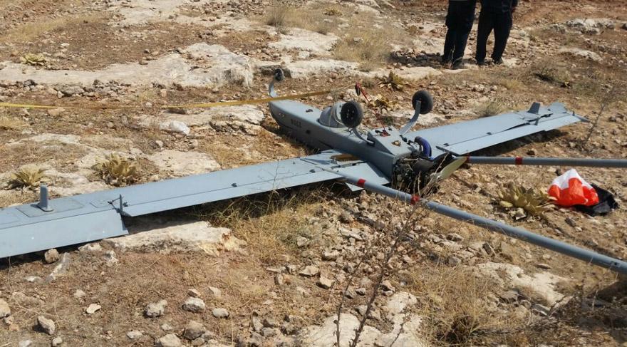 Gaziantep'te insansız hava aracı düştü