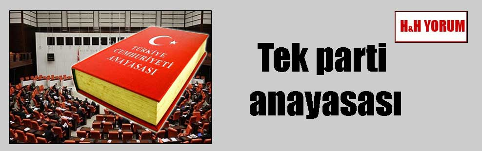 Tek parti anayasası