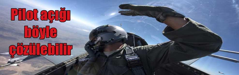Pilot açığı böyle çözülebilir