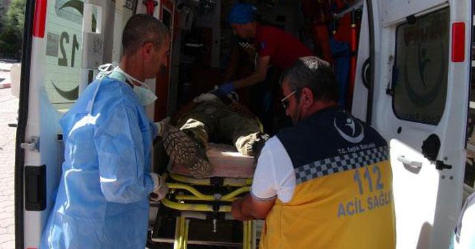 Fırat Kalkanı'nda 1 Türk askeri ile 6 ÖSO üyesi yaralandı