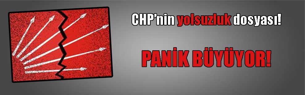 CHP'nin yolsuzluk dosyası! PANİK BÜYÜYOR!