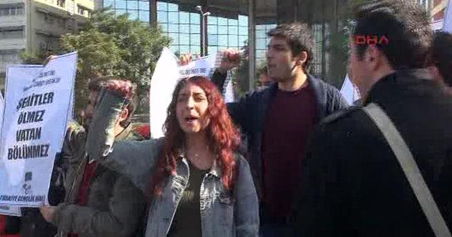 Ankara'da ABD'li Bakan'a protesto